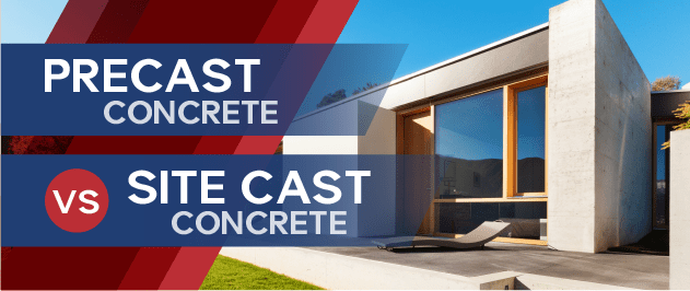 Precast Concrete vs  Site Cast Concrete - What Are They?