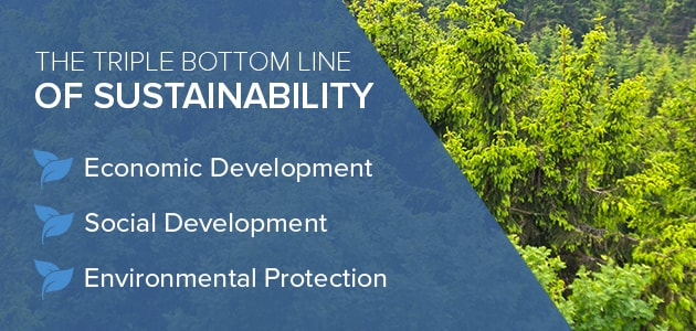 sustainability bottom line