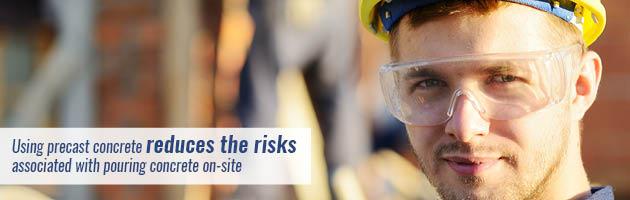 precast reduces risks