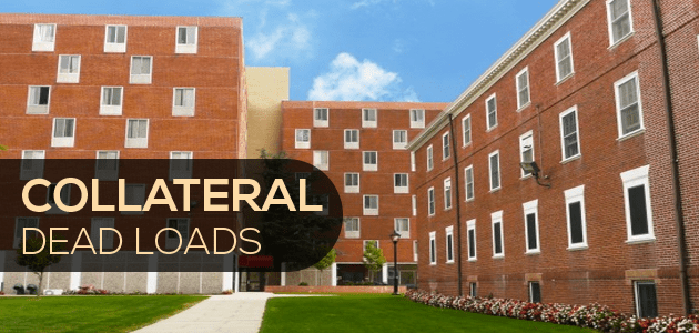 Collateral Dead Loads for Hotels, Apartments, and Dormitories -