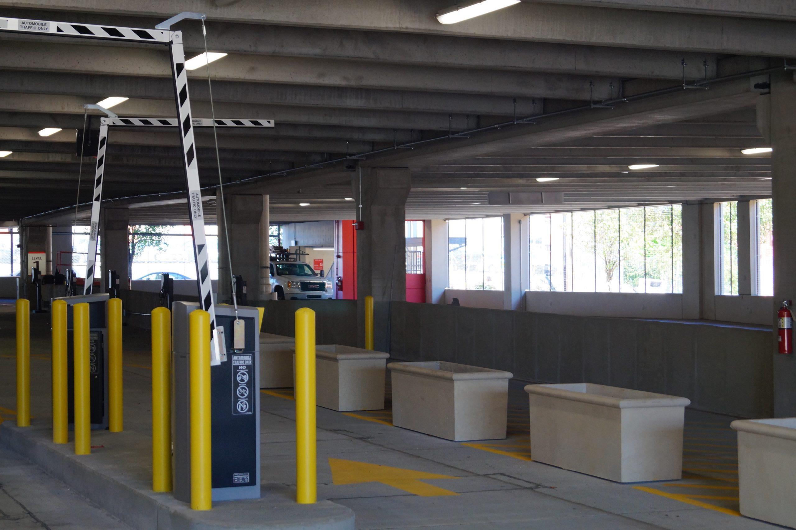 NJIT Parking Garage