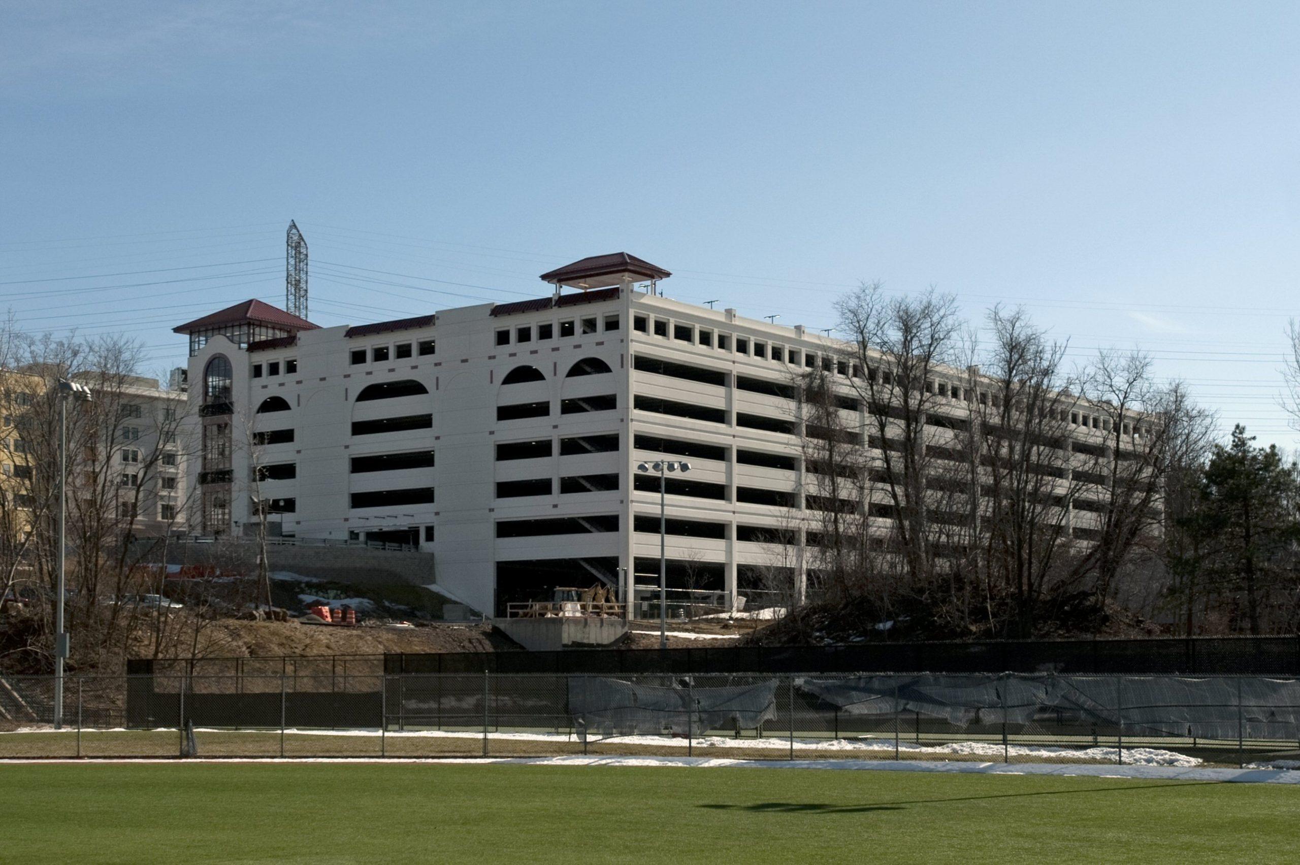 Montclair State University parking garage