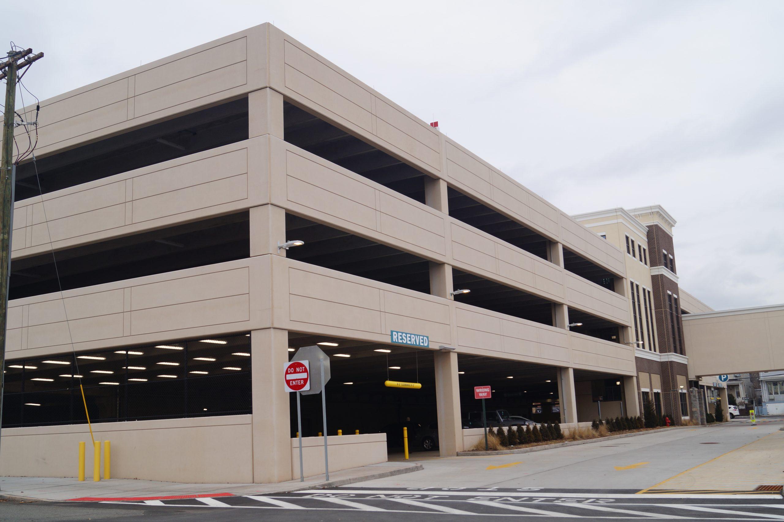 St. Barnabas Parking Garage