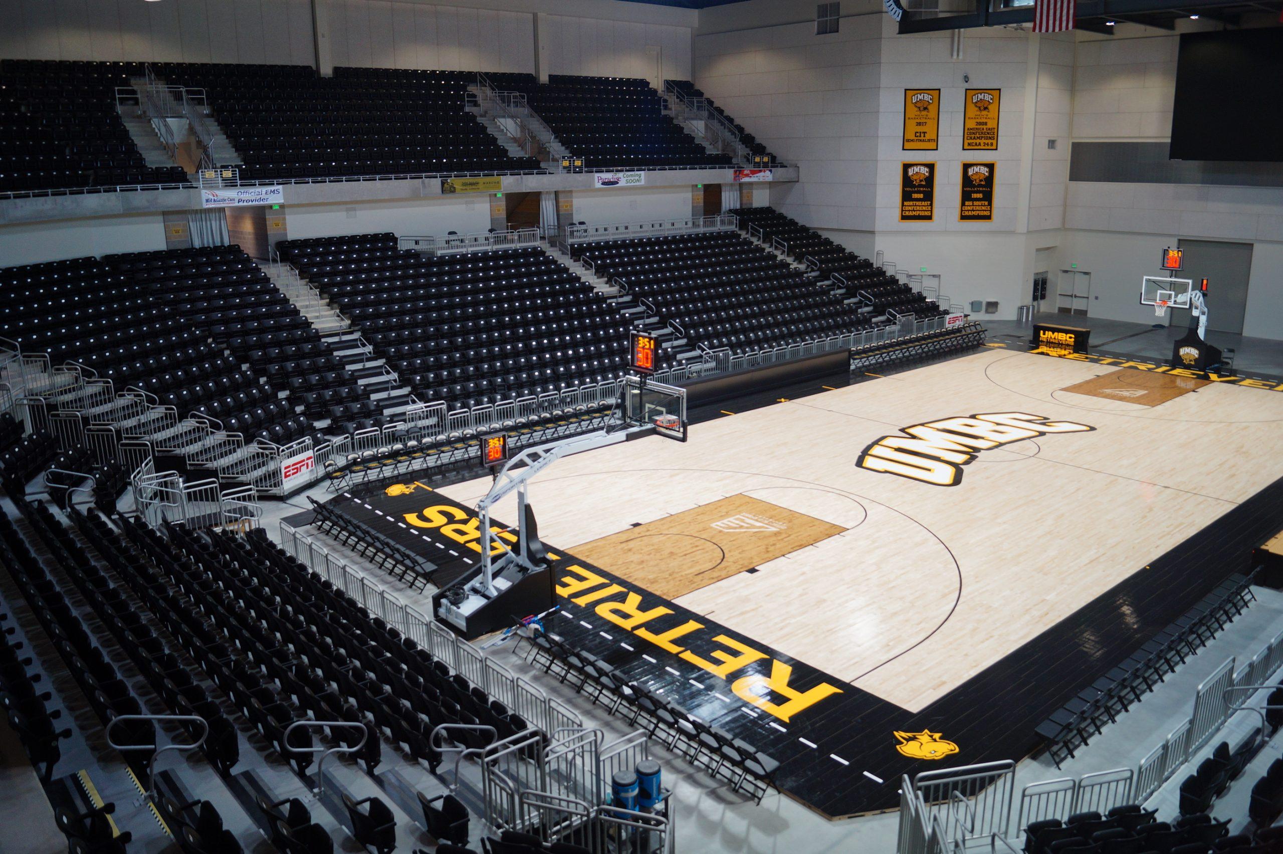 UMBC's Basketball Stadium