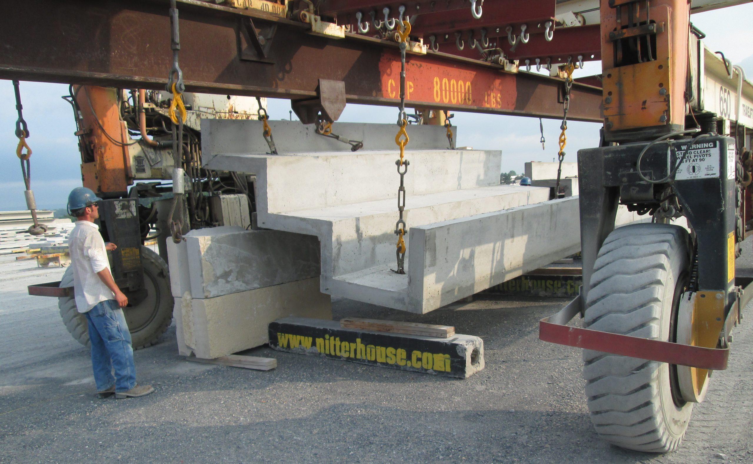 Precast Concrete Stadium Risers