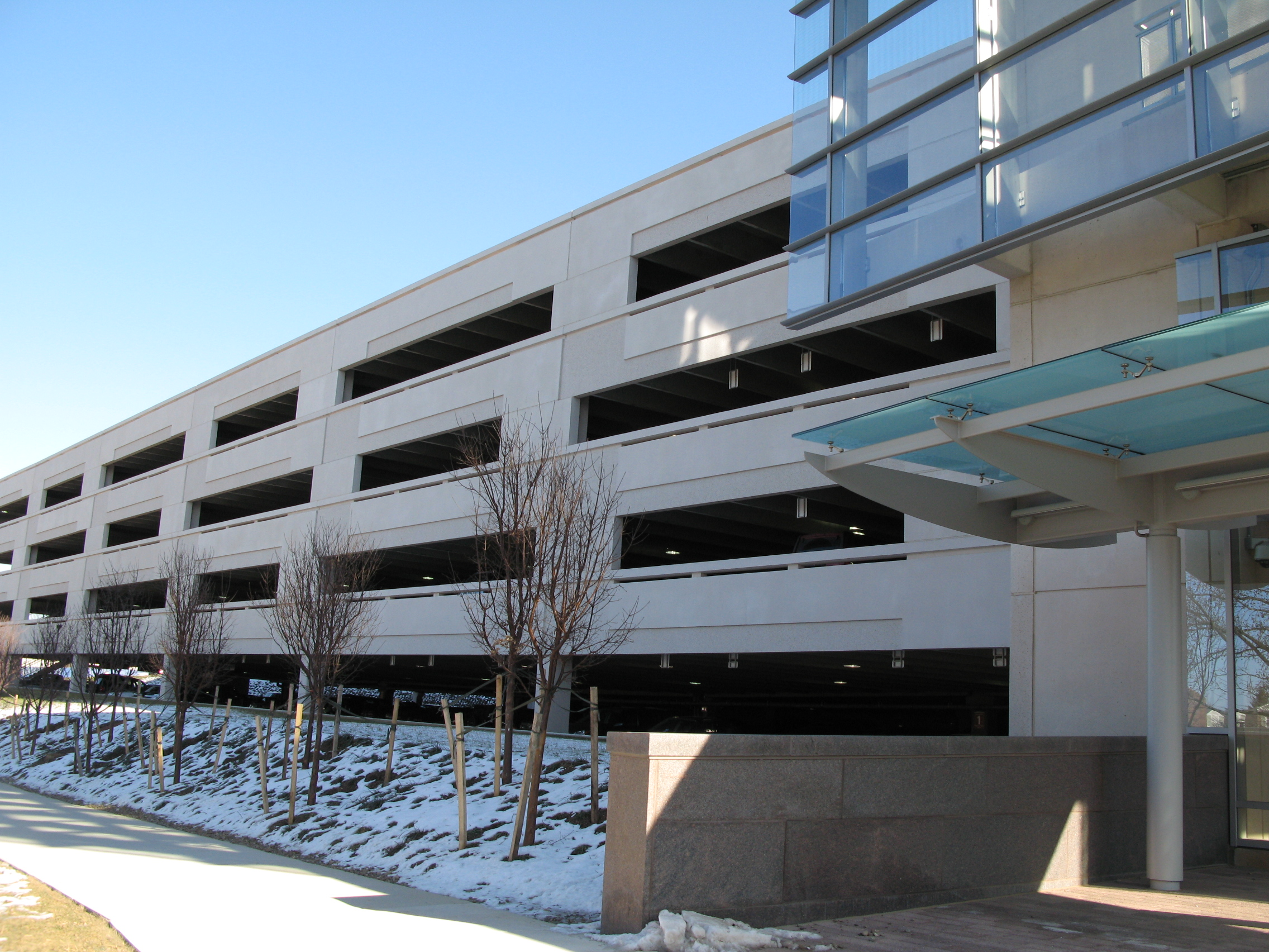 Hershey Medical Parking Garage